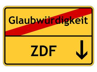 Glaubwürdigkeit des ZDF