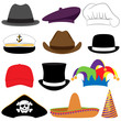Vector Collection of Hats or Photo Props - 67502655