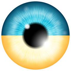 Ukrainian eye