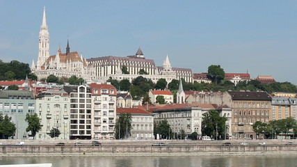 Matyas church and fisherman bastion Budapest