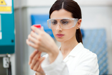 Female scientist at work in a laboratory