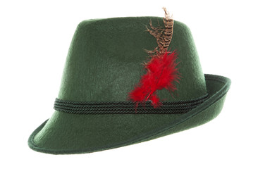 Green Oktoberfest bavarian hat