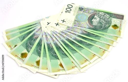 Polish banknotes - 67506019