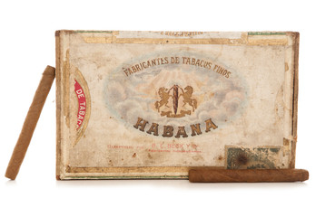 old havana cigar box