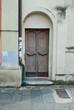 Porta in legno, ingresso vecchia casa