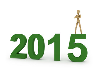 2015: figure with year