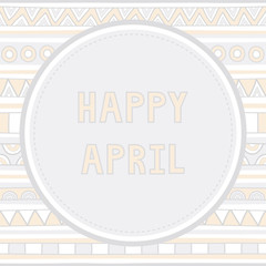 Happy April background1