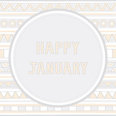 Happy January background1