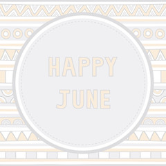 Happy June background1