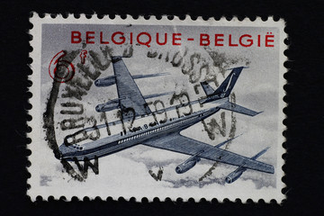 Briefmarke_Belgien