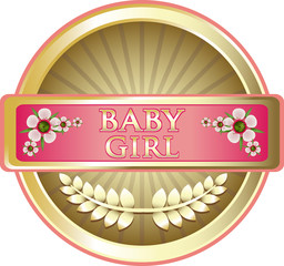 Baby Girl Pink Label