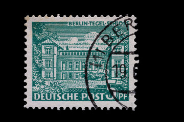 Briefmarke_Berlin_Tegel_Schloss