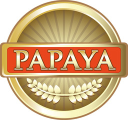 Papaya Gold Label