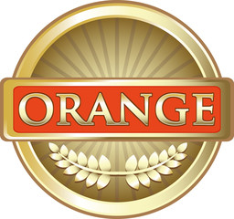 Orange Gold Label