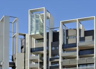 cantiere di costruzione edile - Milano Portello Fiera