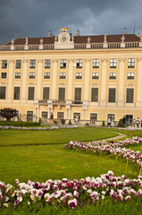 Detail from Schonbrunn Palace in Vienna, Austria