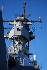 USS Missouri Conning Tower