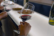 Постер, плакат: Wine tasting