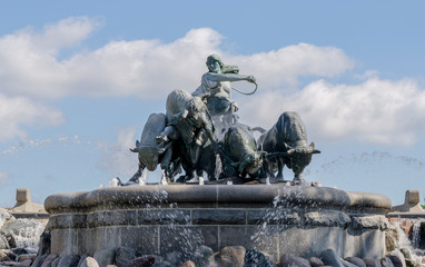 Gefion fountain Copenhagen