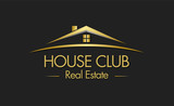 House Club Real Estate Logo poster