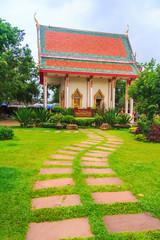 Walkway To Temple