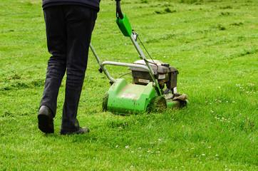 Gardener in action