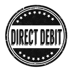 Direct debit stamp