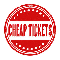 Cheap tickets stamp
