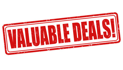 Valuable deals stamp