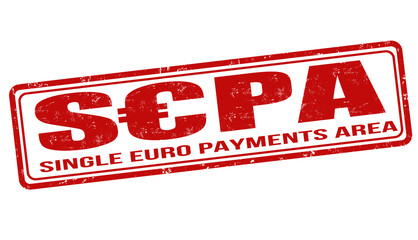 SEPA - Single Euro Payments Area stamp