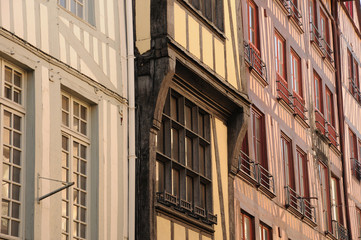 Normandie, the picturesque city of Rouen