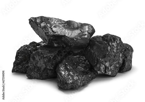 Small Coal Pile - 67514494