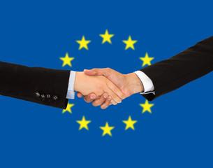 businessmen in europe