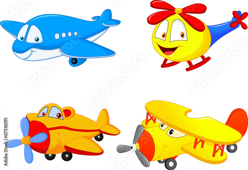 Cartoon plane