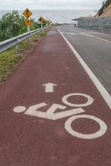 Cyclists symbol sign