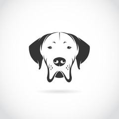 Vector image of dog head
