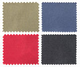 Fototapety set of fabric swatch samples texture