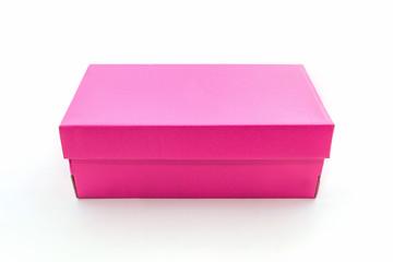 Pink shoe box