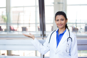 Confident health care professional