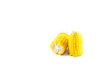 Boiled corn.