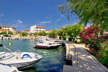 Harbor of adriatic village Petrcane