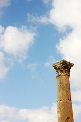 Column in Jerash