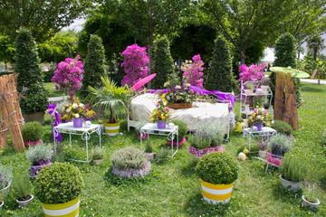 Dekorative Gartengestaltung in Wien