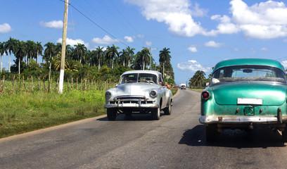 Kubanische Oldtimer auf der Strasee