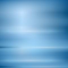 Bright blue abstract shiny background