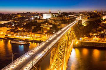 Dom Luiz bridge Porto