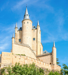 Alcazar of Segovia Spain