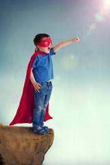 superhero boy child