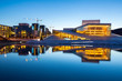 Leinwanddruck Bild - Oslo Opera House Norway