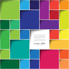 Square color background